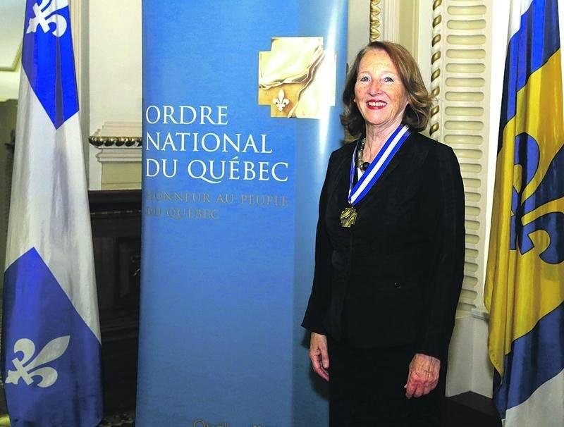 La Maskoutaine Céline Saint-Pierre a reçu le titre d'Officière de l'Ordre national du Québec pour sa contribution dans le domaine de la sociologie. Photo courtoisie