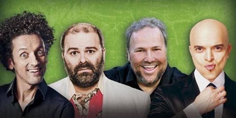 André Sauvé, Laurent Paquin, Jean-Marc Parent et Rachid Badouri seront les quatre têtes d'affiche de la 7 e édition de <em>L'été dans le 450</em>.