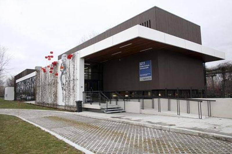 Le nouveau pavillon horticole écoresponsable de l'ITA.