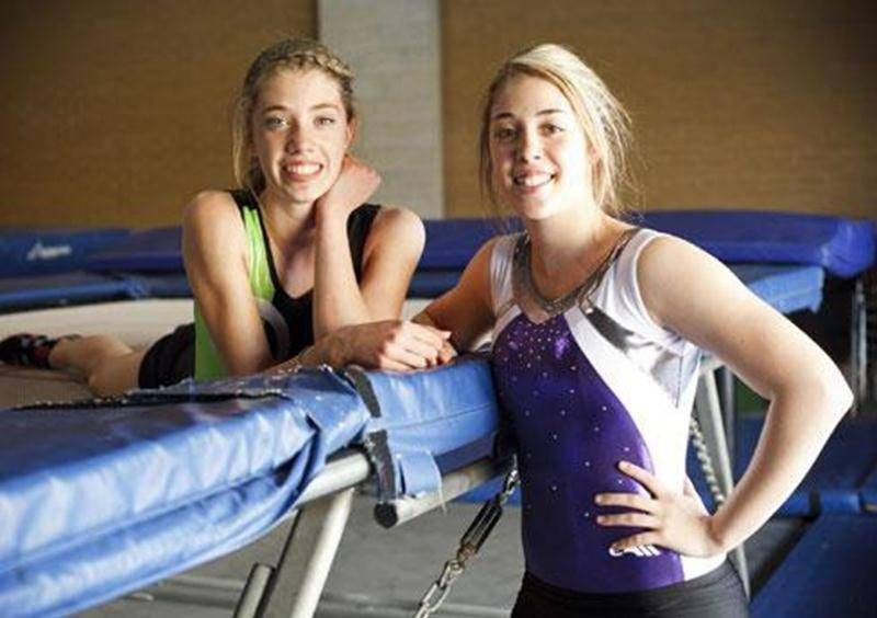Les soeurs Pietroniro, Mélanie et Amélie, ont le championnat Indo-Pacifique de trampoline dans leur mire.