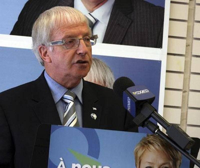 Émilien Pelletier, candidat du Parti québécois dans Saint-Hyacinthe.