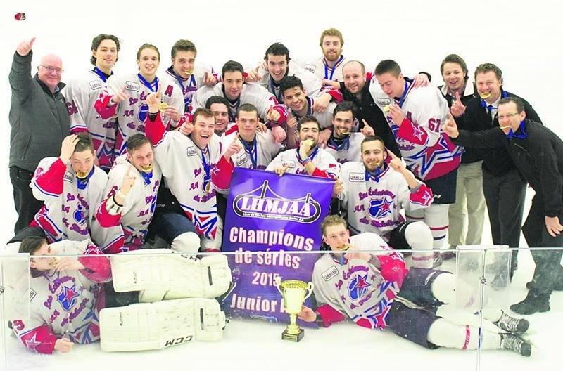 Les Éclaireurs du Richelieu sont champions des séries de la ligue métropolitaine junior AA. Photo Courtoisie