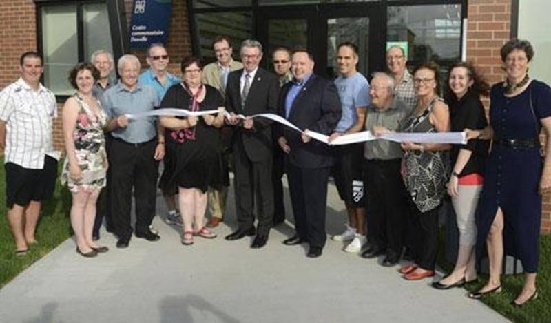 Le centre communautaire Douville a été inauguré par les autorités municipales la semaine dernière.