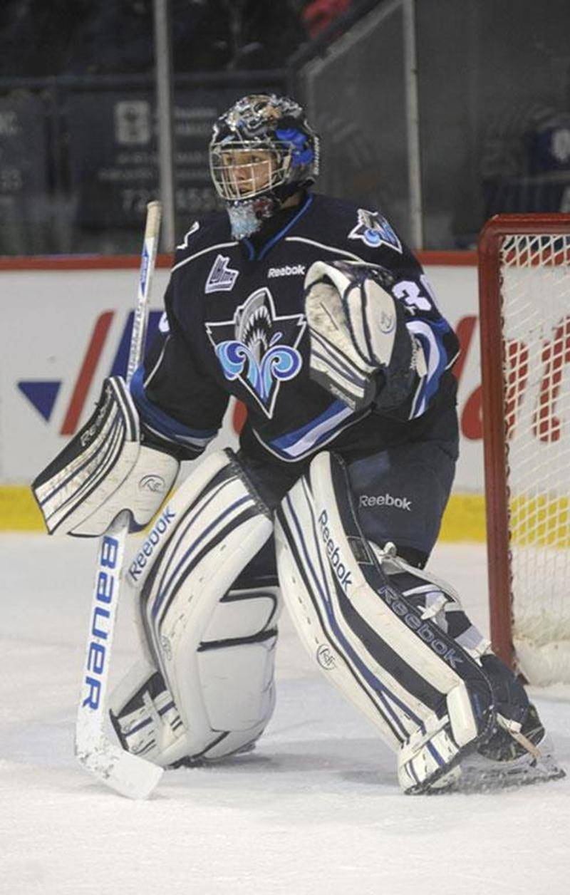 Philippe Desrosiers aura l'occasion de porter pour la toute première fois le chandail d'Équipe Canada lors du Championnat du monde des moins de 18 ans.