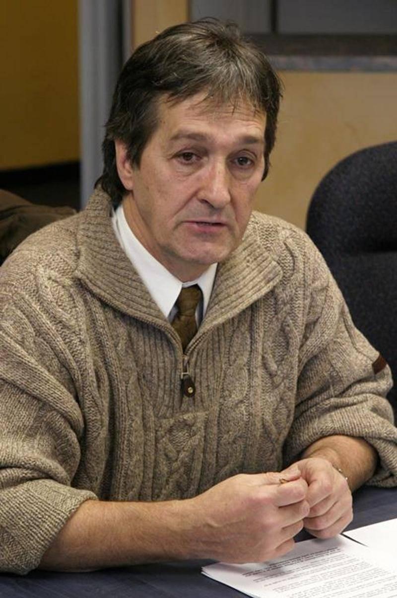 Yvon Pesant, maire de Saint-Marcel