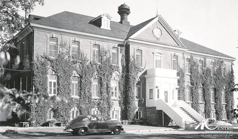 École de Laiterie de Saint-Hyacinthe 1950-1951. Centre d'histoire de Saint-Hyacinthe, CH478