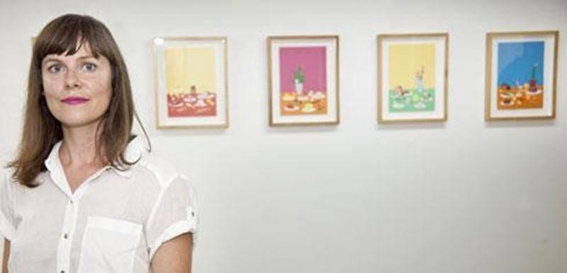 Annie Descôteaux présente l'exposition <em>Ad nauseam</em> à l'ancienne Ressourcerie dans le cadre d'<em>Orange</em>, évènement d'art actuel de Saint-Hyacinthe.