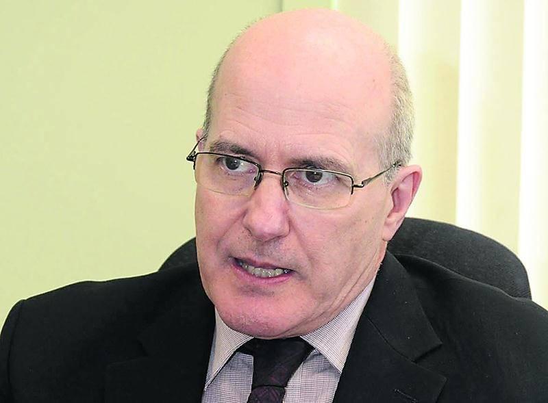 Le directeur général de la MRC des Maskoutains, Gabriel Michaud.  Photo François Larivière | Le Courrier ©