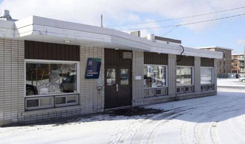 Le centre communautaire Douville, du 5025, rue Gouin, sera démoli puis reconstruit par un entrepreneur général qui fait l'objet d'une enquête pour fraude fiscale.