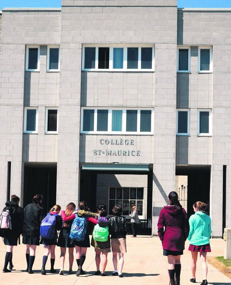 C'est à la rentrée 2017 que les premiers garçons entreront au Collège Saint-Maurice. Photo François Larivière | Le Courrier ©