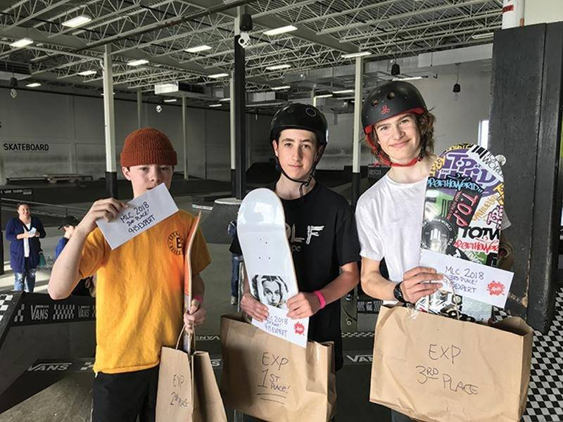 Skate : une 2e place pour Léo Hamel