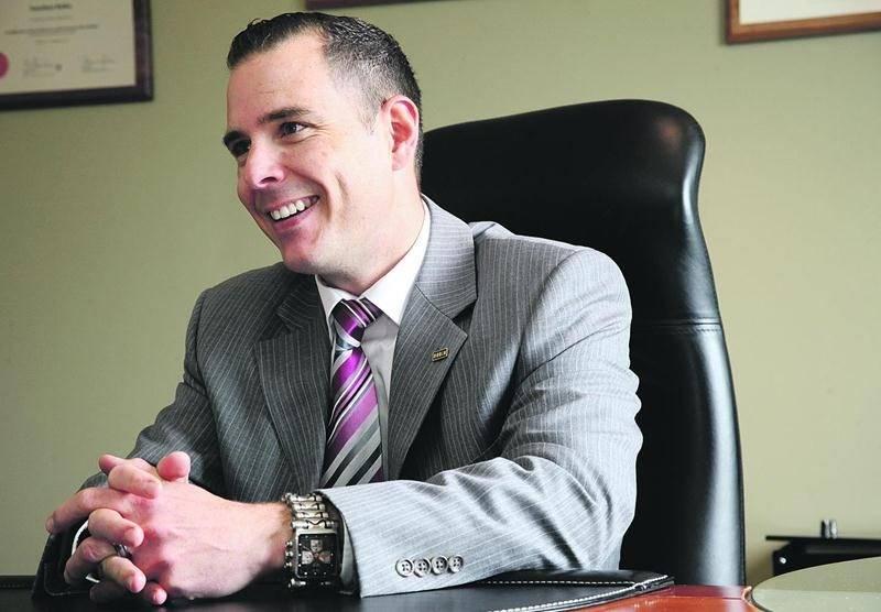 Le vice-président du Groupe Robin, Jonathan Robin. Photothèque | Le Courrier ©