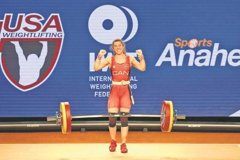 Haltérophilie : Tali Darsigny 9e au Championnat du monde senior