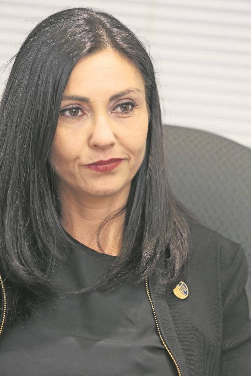 La députée de Saint-Hyacinthe à l'Assemblée nationale, Chantal Soucy.  Photothèque | Le Courrier ©