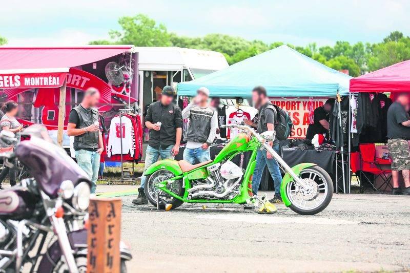 Le Thunder Bike Show se tenait pour la première fois à la piste de course Sanair, à Saint-Pie. Photo Courtoisie La Voix de l'Est