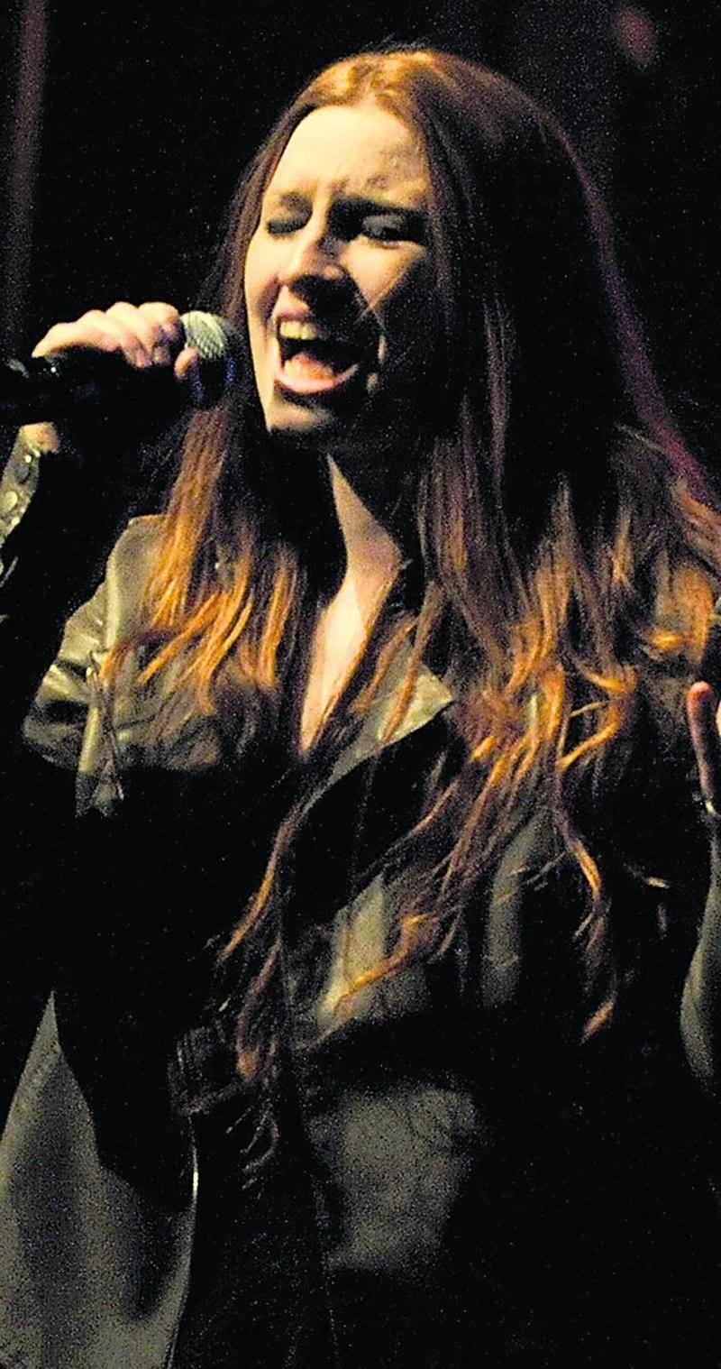 Amélie Schnick, participante à la finale locale du concours Cégep en spectacle. Photo François Larivière | Le Courrier ©
