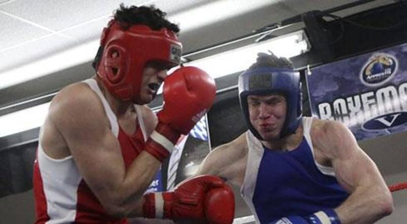 Pierre-Olivier Corbeil s'est donné corps et âme dans son combat contre César Damien Reinozo, déclaré meilleur combat de la soirée.