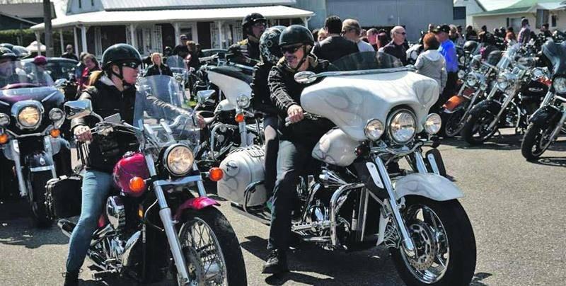 Près de 400 motocyclistes sont attendus à Saint-Hyacinthe les 26 et 27 juin pour la Fin de semaine de la Fédération motocycliste du Québec 2015. Photo Stéphane Gauthier