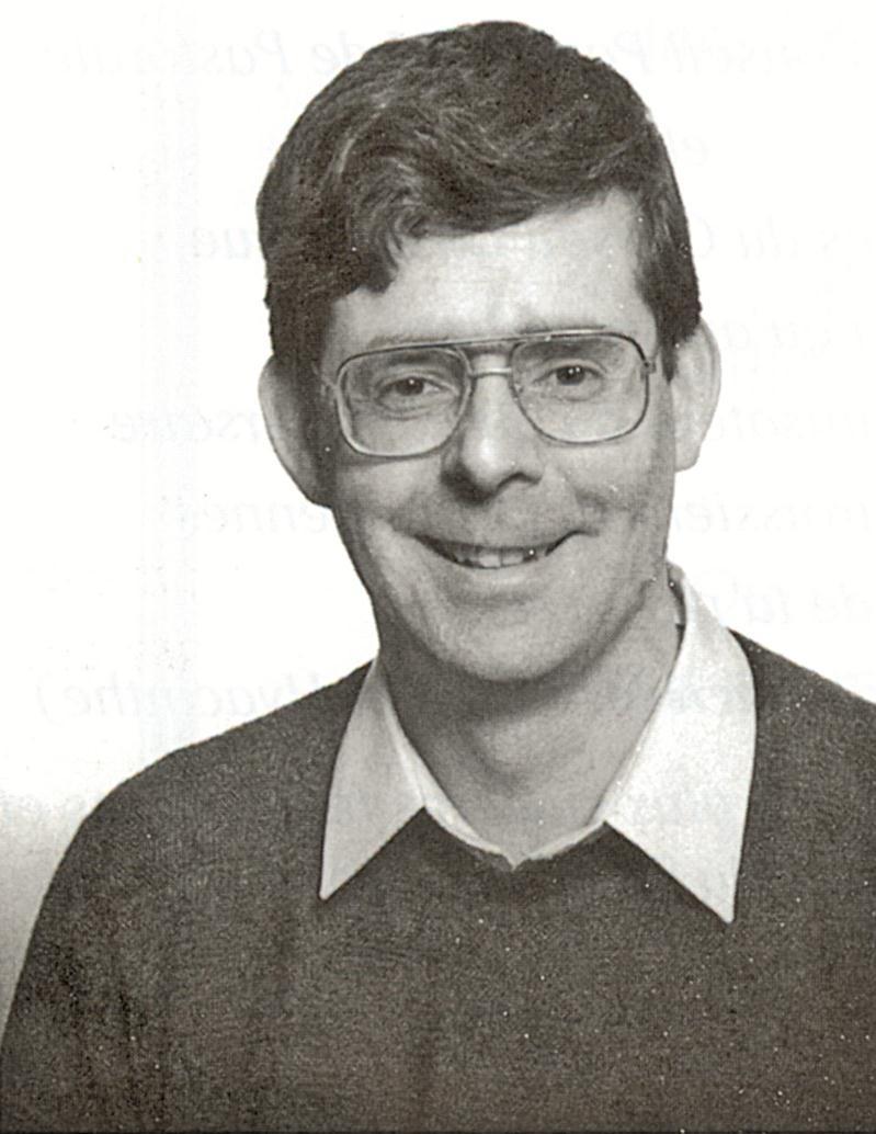 Daniel Moreau, dans les années 1990, alors qu'il était curé à Saint-Hyacinthe.