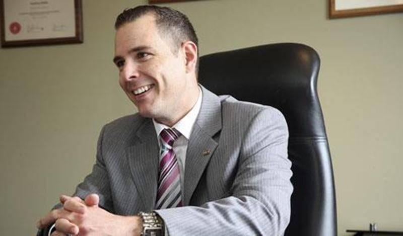 Le vice-président du Groupe Robin, Jonathan Robin, est enthousiasme à la vue de tous les projets qui se présentent pour son entreprise.