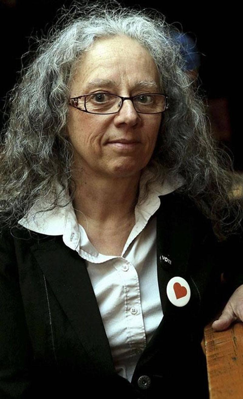 La candidate de Québec solidaire, Danielle Pelland, veut obtenir 10 % des votes lors du prochain scrutin.