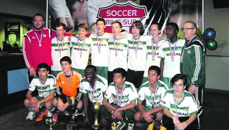Le FC Saint-Hyacinthe U16 masculin AA.