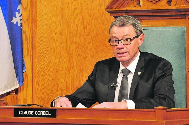 Le maire Claude Corbeil a parlé de ses liens de parenté avec Gilles Lépine comme d'un faux scandale. Photothèque | Le Courrier ©