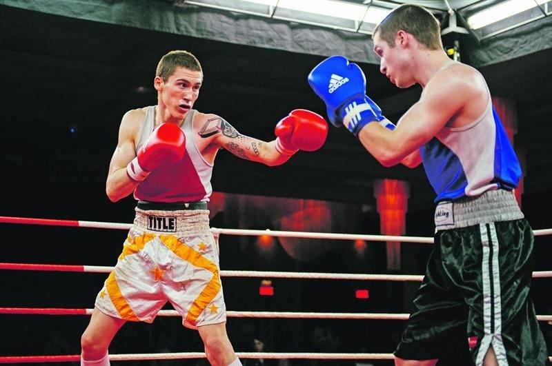 Samuel Lajoie se battra samedi à Québec. Photothèque | Le Courrier ©