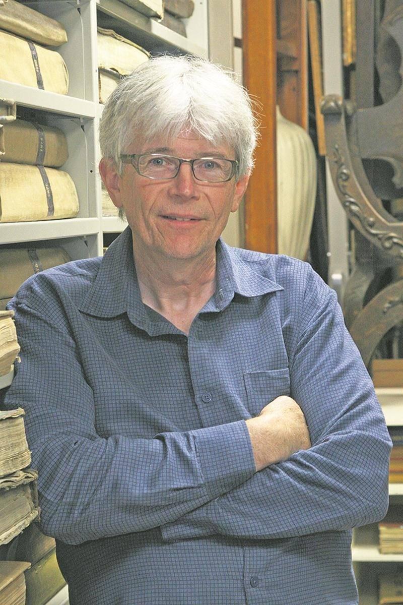 Luc Cordeau, directeur général du Centre d'histoire de Saint-Hyacinthe.   Photo Centre d'histoire de Saint-Hyacinthe