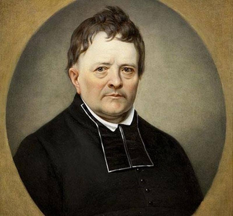 Thomas Maguire par Théophile Hamel.Source: Musée des Ursulines de Québec, Collection du Monastère des Ursulines de Québec.