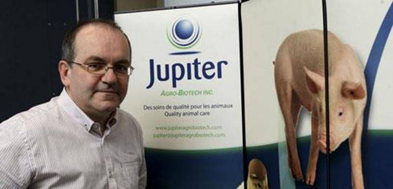 René Lallier, président de Jupiter Agro-Biotech