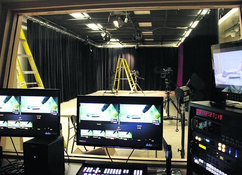 Le centre de production de Zone TV est installé à Drummondville. Courtoisie Groupe Maskatel