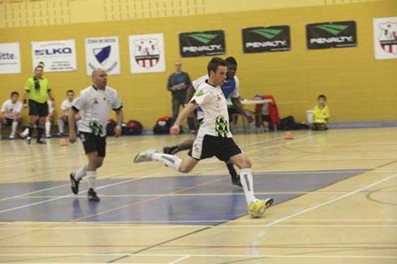 Le PEPE Machine a vaincu le Liga Montréal en ouverture du Défi Futsal, le samedi 3 mars.