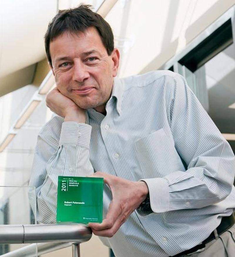 Le Dr Robert Patenaude a remporté le concours <em>Gens de coeur</em> présenté par Radio-Canada.