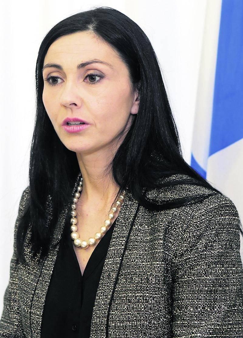 La députée caquiste Chantal Soucy.  Photo Robert Gosselin | Le Courrier ©