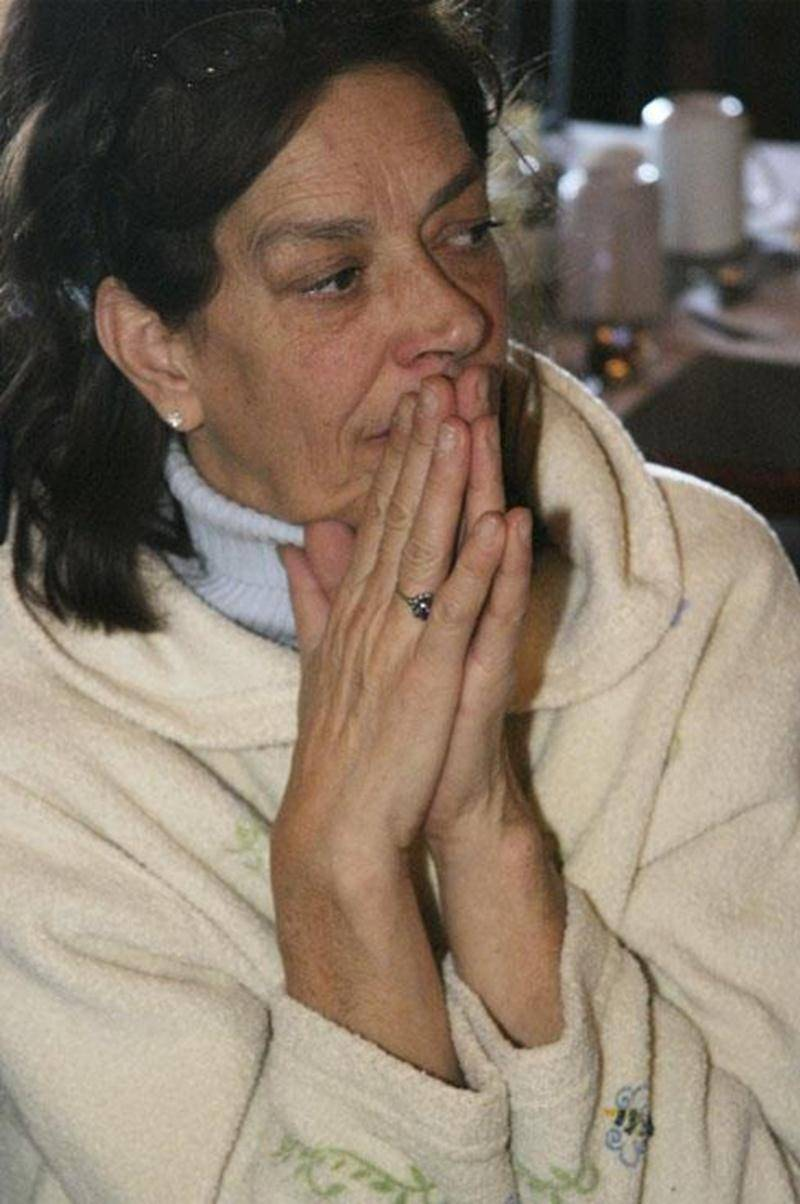 Claire Laplante n'a pas versé de larmes à l'annonce du décès de son frère cadet, accusé du meurtre prémédité de son épouse Diane Grégoire.