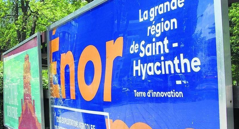 La campagne d'image de la grande région de Saint-Hyacinthe est au coeur d'une discorde entre la Chambre de commerce et de l'industrie Les Maskoutains et Revenu Québec. Photo François Larivière   Le Courrier ©