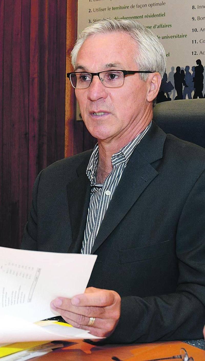 Michel Tardif, directeur des Finances  à la Ville de Saint-Hyacinthe. Photo François Larivière | Le Courrier ©