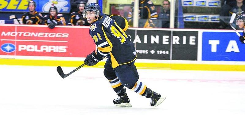 Anthony Beauvillier est l'un des 23 joueurs sélectionnés par Équipe Canada pour le Championnat du monde junior de hockey. Photothèque   Le Courrier ©