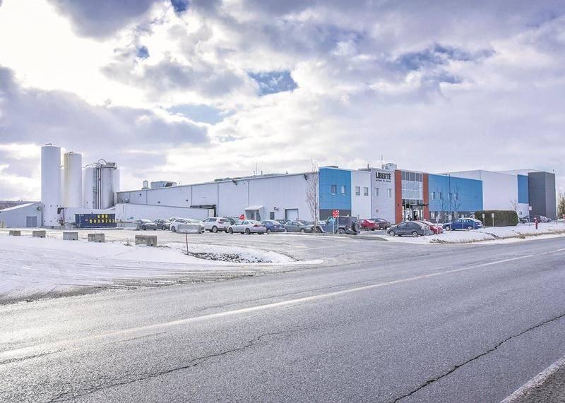 L'usine Liberté est située sur le boulevard Choquette à Saint-Hyacinthe. Photo François Larivière | Le Courrier ©