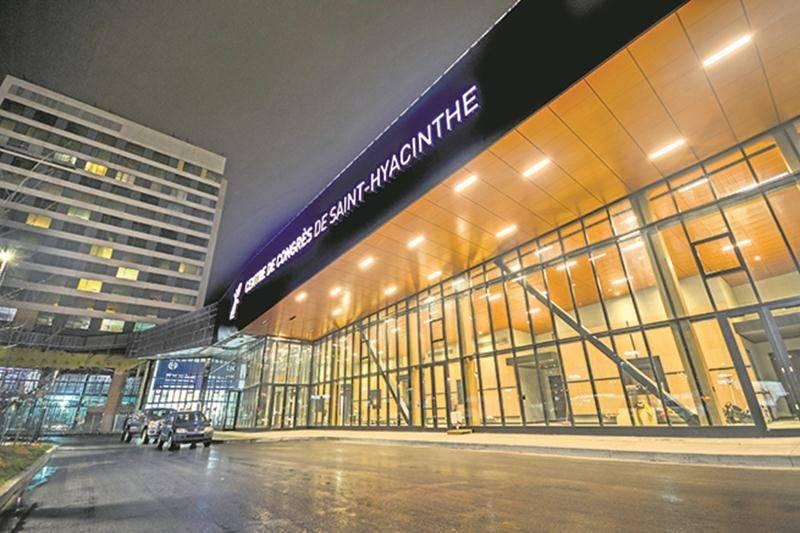 L'ouverture du centre de congrès municipal