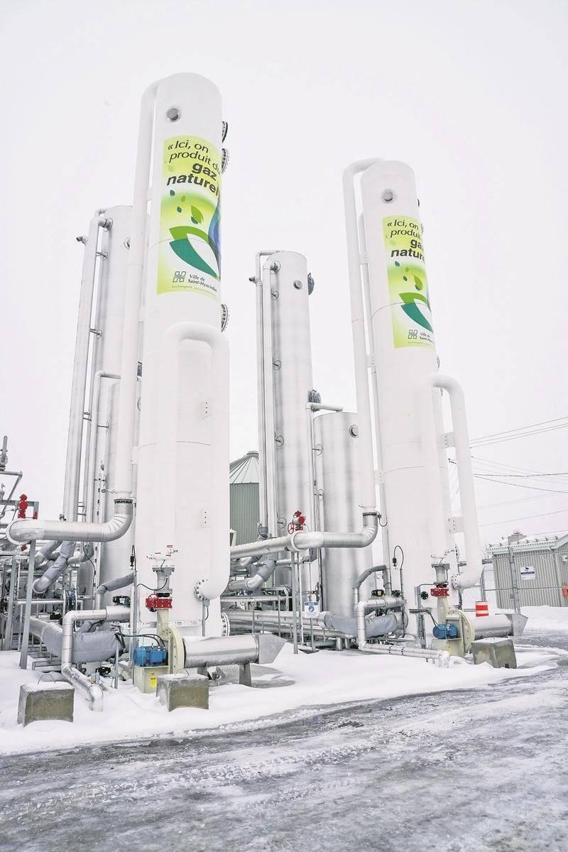 La vente de gaz et les montants perçus pour traiter les résidus organiques des entreprises vont rapporter à la Ville 5,8 M$ en 2018, selon les prévisions municipales.   Photo François Larivière | Le Courrier ©