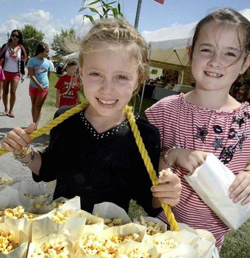 Le Festival du maïs de Saint-Damase est un rendez-vous familial annuel depuis 25 ans et n'accueille pas moins de 15 000 personnes au cours du week-end.