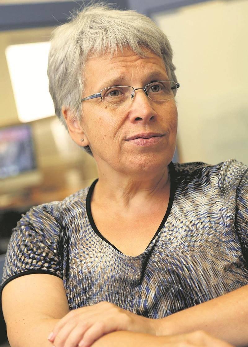 La députée de Saint-Hyacinthe-Bagot, Brigitte Sansoucy. Photo Robert Gosselin | Le Courrier ©
