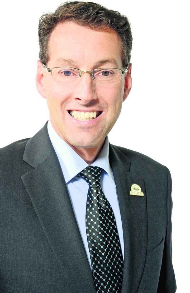 Le nouveau directeur général de la Société d'agriculture de Saint-Hyacinthe, François Brouillard. Photo Patrick Deslandes