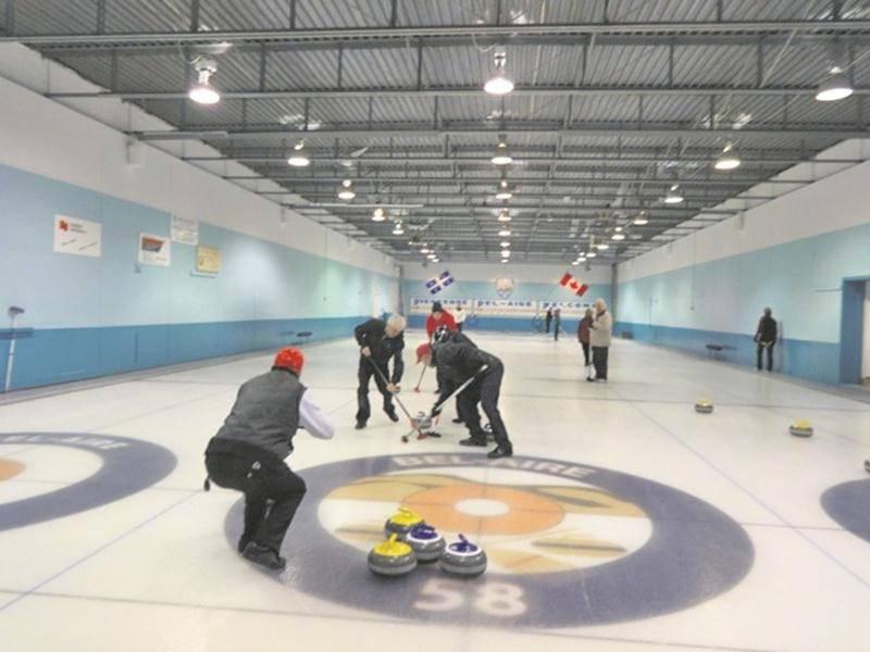 Le club de curling Bel-Aire tiendra ses portes ouvertes du 12 au 14 octobre. Photo Courtoisie