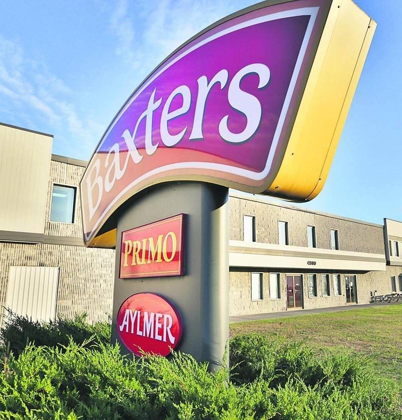 L'usine du fabricant de soupes en conserve Baxters Canada est basée à Saint-Hyacinthe. Photo Robert Gosselin | Le Courrier ©