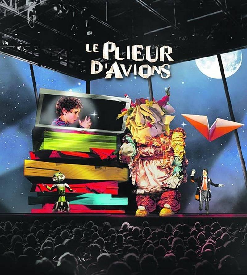 La pièce Le plieur d'avions est présentée au Théâtre de la Dame de Coeur jusqu'au 29 août du mercredi au dimanche. Théâtre de la Dame de Coeur
