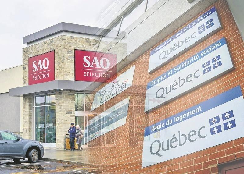 La Société québécoise des infrastructures (SQI) a conclu six baux de location avec les Centres d'achats Beauward à Saint-Hyacinthe. Photo Robert Gosselin | Le Courrier ©