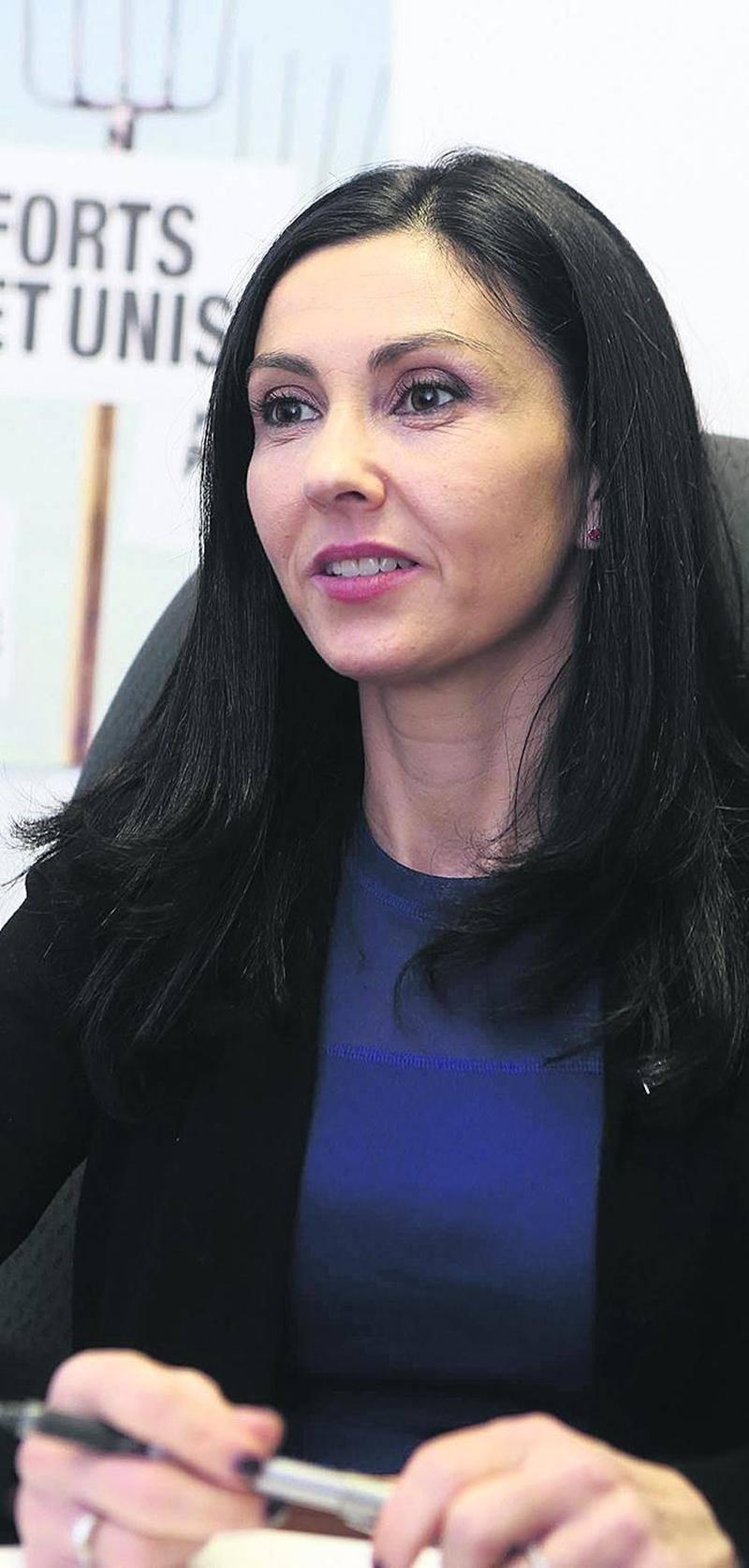 La députée caquiste de Saint-Hyacinthe, Chantal Soucy. Photo Robert Gosselin | Le Courrier ©